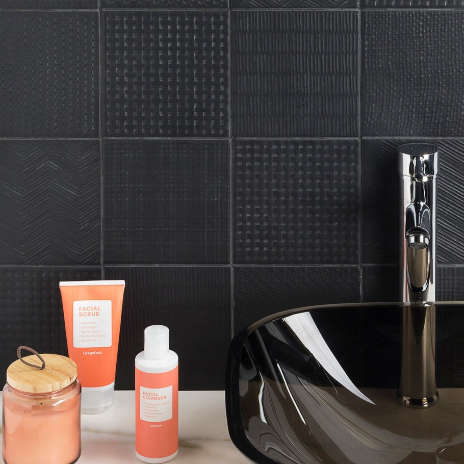 - Welcome In Bold: Our Favorite Black Tiles - Tileist By Tilebar
