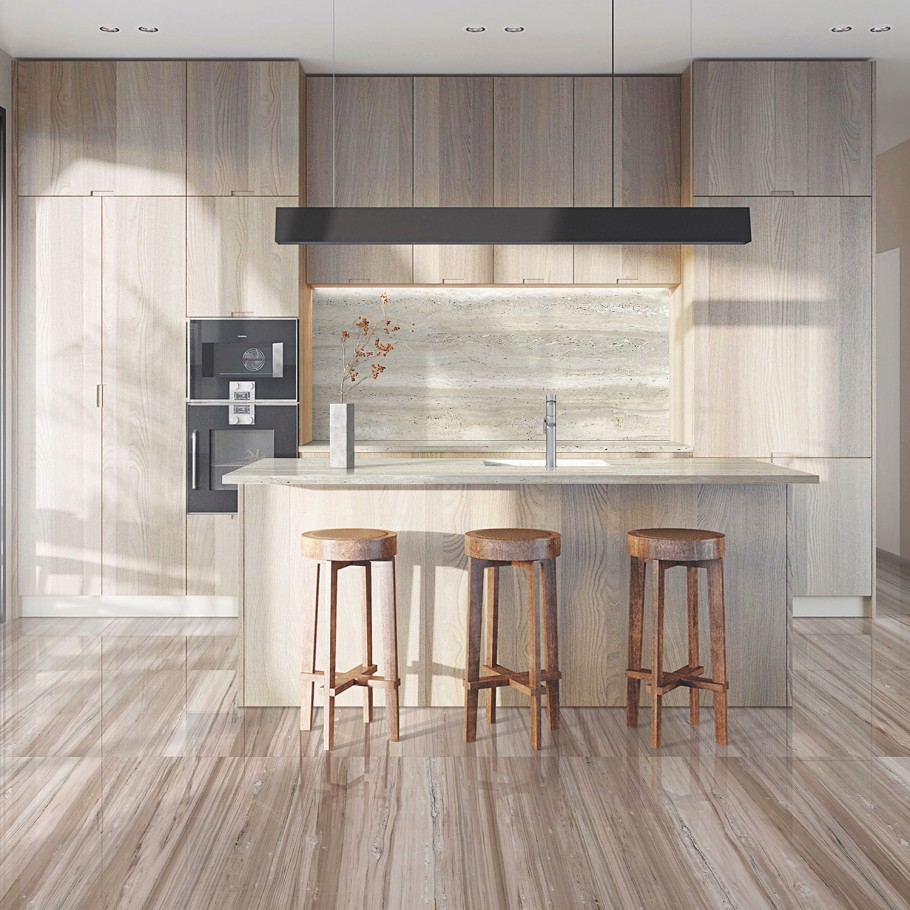 Top 8 Kitchen Flooring Ideas And Trends For 2020 - Tileist By Tilebar