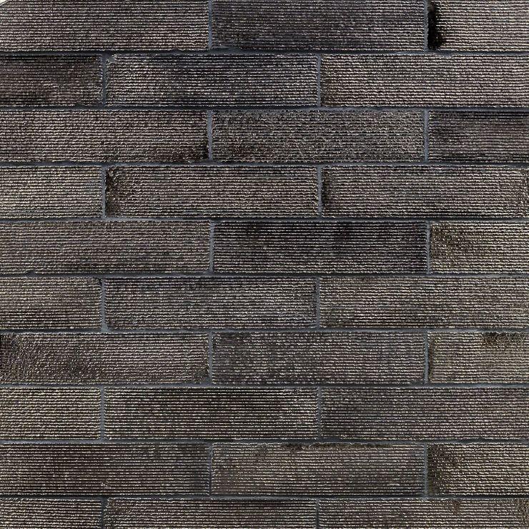 Easton Ridge Gold 2X9; in Dark Gold Clay Brick; for Backsplash, Wall Tile, Bathroom Wall, Shower Wall; in Style Ideas Rustic, Craftsman, Farmhouse, Industrial, Mid Century