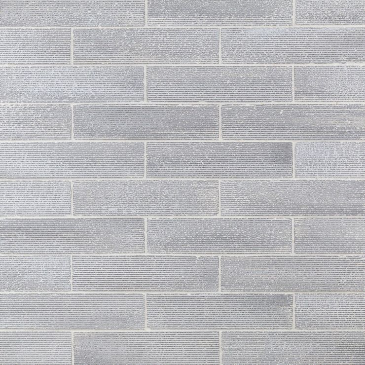 Easton Ridge Polished White 2X9; in White Clay Brick; for Backsplash, Wall Tile, Bathroom Wall, Shower Wall; in Style Ideas Rustic, Craftsman, Cottage, Farmhouse, Industrial, Mid Century