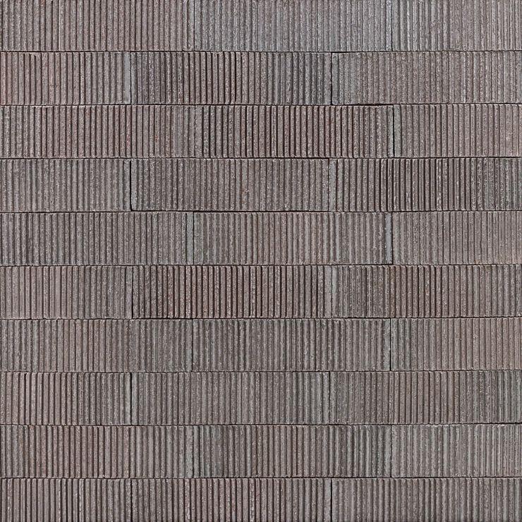 Easton Summit Dark Gray 2X9; in Dark Gray Clay Brick; for Backsplash, Wall Tile, Bathroom Wall, Shower Wall; in Style Ideas Rustic, Craftsman, Farmhouse, Industrial, Mid Century