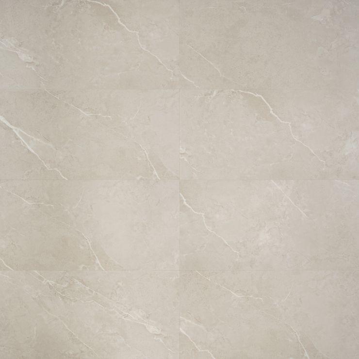 Optoro Chauny Beige 28mil Rigid Core Click 12x24 Luxury Vinyl; in Beige Luxury Vinyl; for Floor Tile, Bathroom Floor, Commercial Floor; in Style Ideas Modern, Traditional