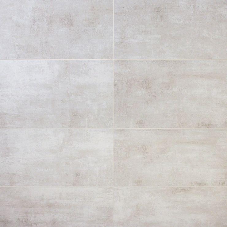 Holland Blanc 12 X 24 Matte; in Light Gray Porcelain ; for Backsplash, Floor Tile, Wall Tile, Bathroom Floor, Bathroom Wall, Shower Wall, Outdoor Floor, Outdoor Wall, Commercial Floor; in Style Ideas Industrial, Transitional