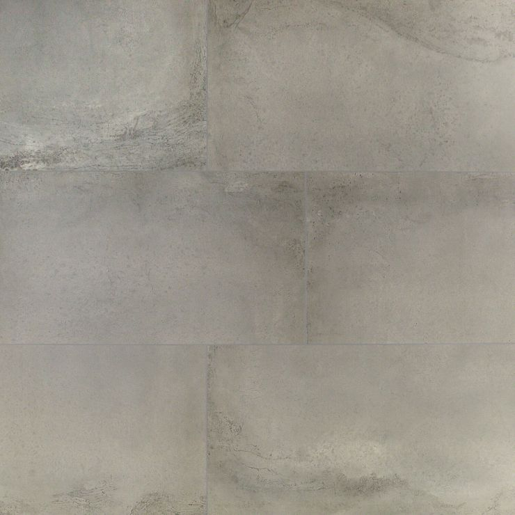 Revel Light Gray 16X32; in Light Gray Porcelain; for Backsplash, Floor Tile, Wall Tile, Bathroom Floor, Bathroom Wall, Shower Wall, Outdoor Floor, Outdoor Wall, Commercial Floor; in Style Ideas Rustic, Craftsman, Industrial, Modern, Transitional