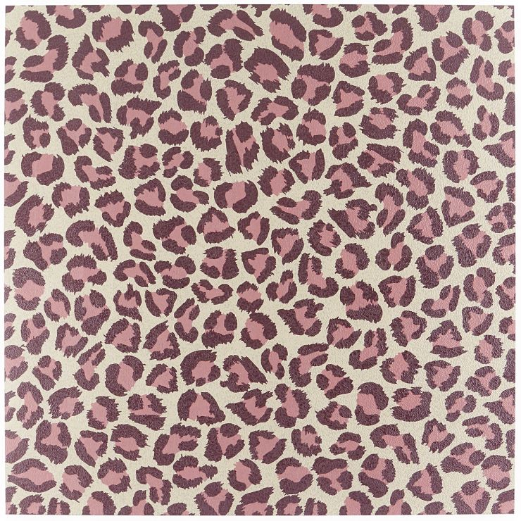 Jungle  Leopard Fucsia; in Violet + White + Pink  Porcelain; for Backsplash, Floor Tile, Wall Tile, Bathroom Floor, Bathroom Wall, Shower Wall, Outdoor Floor, Outdoor Wall, Commercial Floor; in Style Ideas Art Deco, Contemporary, Whimsical