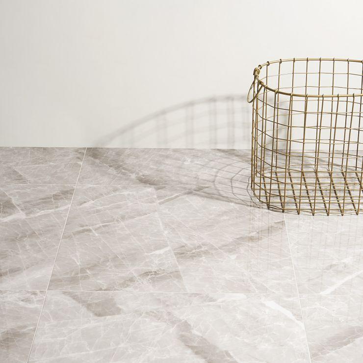 Lumina  Nambia Gray 24X24; in Gray Porcelain ; for Backsplash, Floor Tile, Wall Tile, Bathroom Floor, Bathroom Wall, Shower Wall, Outdoor Wall, Commercial Floor; in Style Ideas Art Deco, Craftsman, Modern