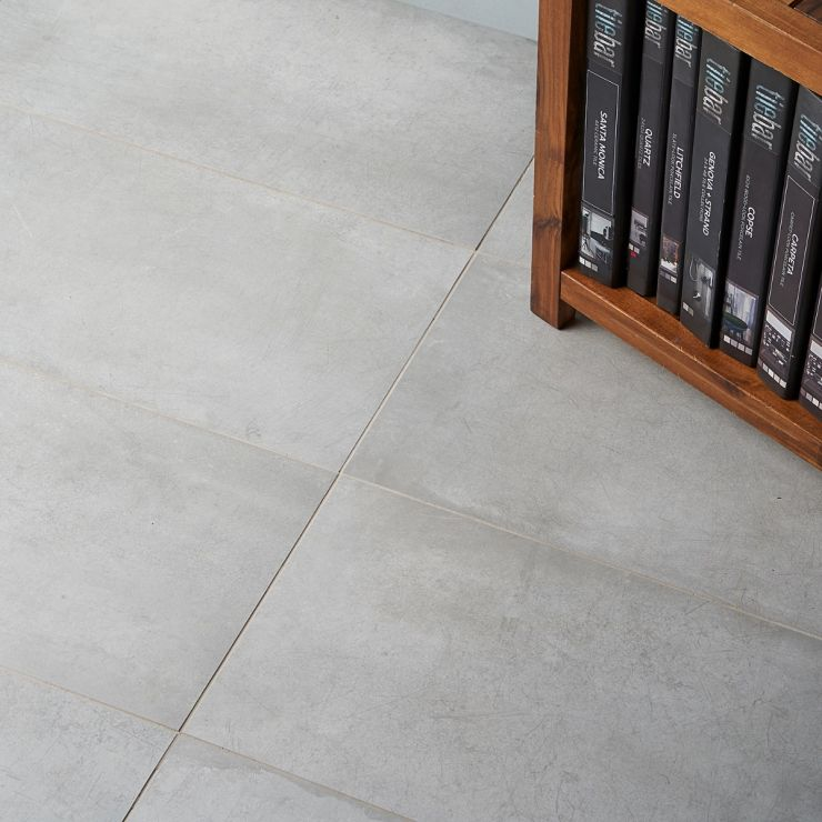 Bond Nimbus 12x24 Matte Porcelain Tile ; in Gray Porcelain; for Backsplash, Floor Tile, Wall Tile, Bathroom Floor, Bathroom Wall, Shower Wall, Shower Floor, Outdoor Floor, Outdoor Wall, Commercial Floor; in Style Ideas Industrial, Mid Century