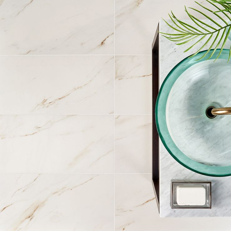 Basic Marble Borghini 12x24 Satin ; in Beige + Gray Porcelain ; for Backsplash, Floor Tile, Wall Tile, Bathroom Floor, Bathroom Wall, Shower Wall, Outdoor Floor, Outdoor Wall, Commercial Floor; in Style Ideas Art Deco, Classic, Modern, Traditional