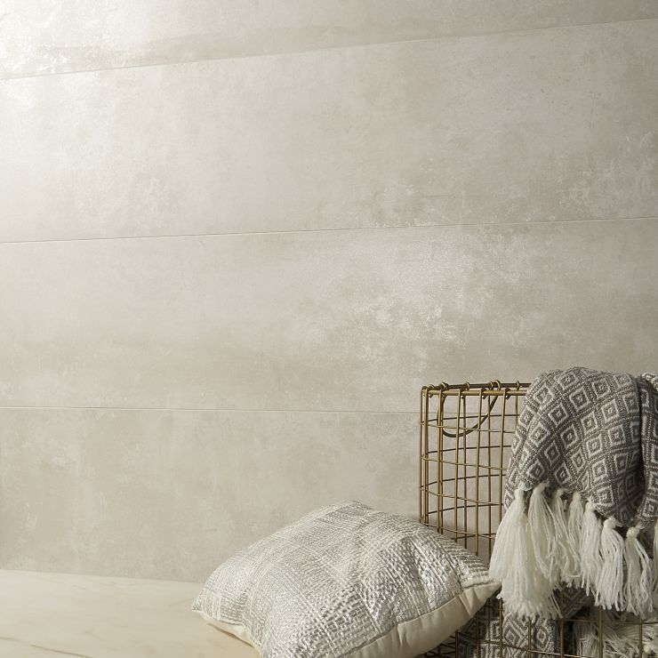Twilight Pearl 12X48 Matte; in Pearl Porcelain; for Backsplash, Floor Tile, Wall Tile, Bathroom Floor, Bathroom Wall, Shower Wall, Outdoor Floor, Outdoor Wall, Commercial Floor; in Style Ideas Rustic, Craftsman, Industrial, Modern, Transitional