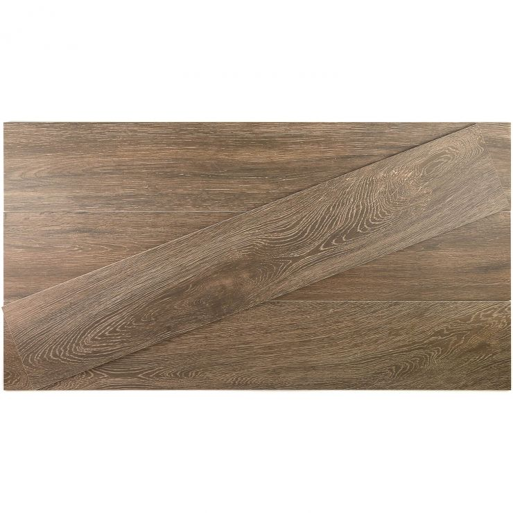 Montana Cherry 8X45 ; in Brown Porcelain; for Backsplash, Floor Tile, Kitchen Floor, Kitchen Wall, Wall Tile, Bathroom Floor, Bathroom Wall, Shower Wall, Outdoor Floor, Outdoor Wall, Commercial Floor; in Style Ideas Rustic, Craftsman, Farmhouse, Industrial, Traditional