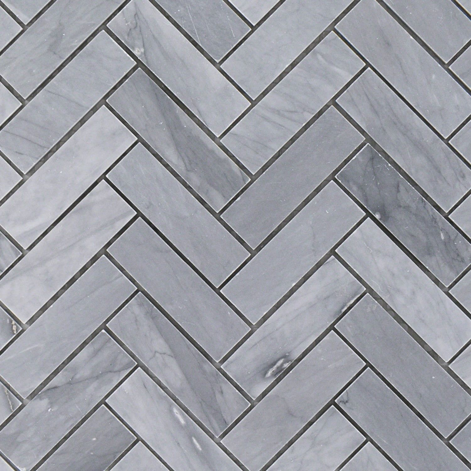 Gray Marble Herringbone Tile 1x3 Halley Gray Tilebar