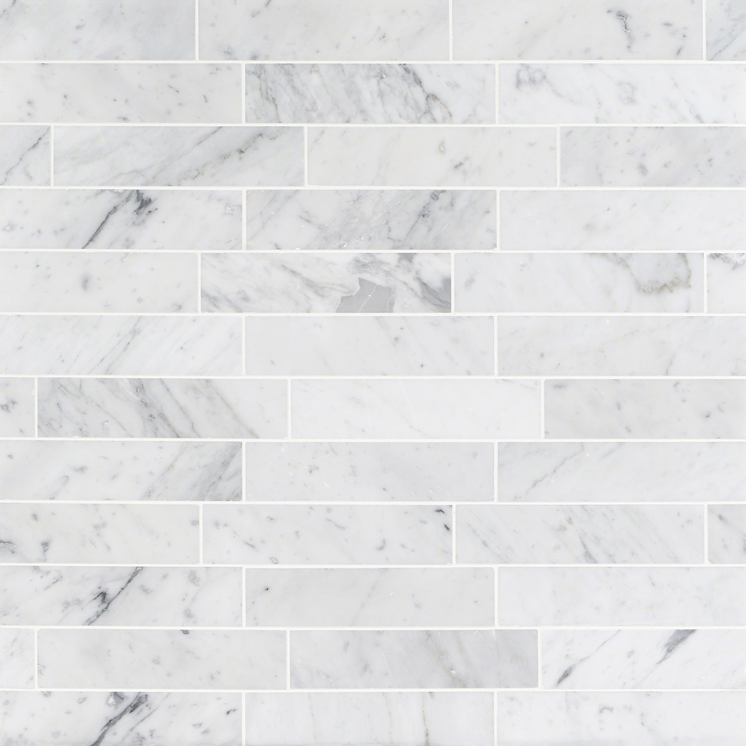 Brushed 2x8 Marble Tile Stone Carrara Subway Tilebar Com