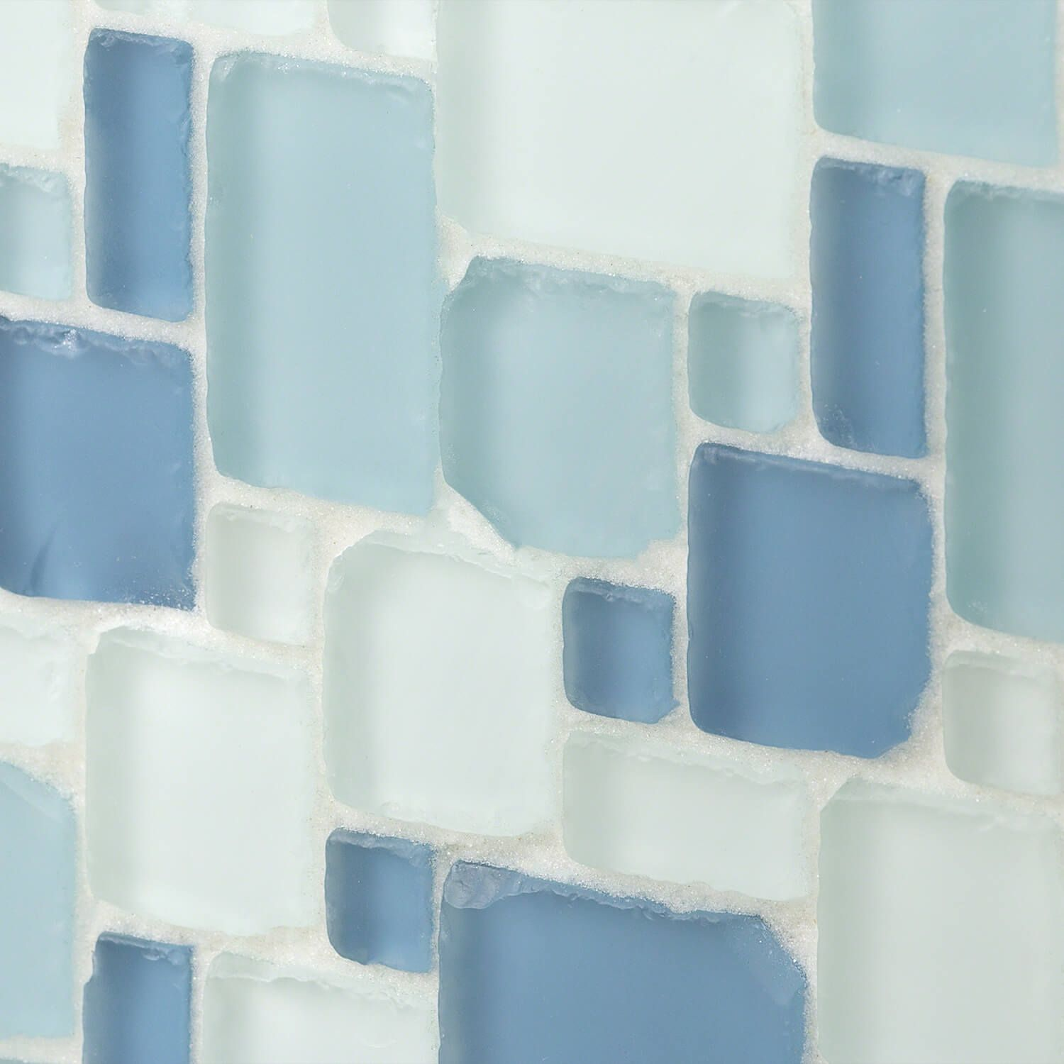 Shop For Coastal Dew 2x8 Beached Frosted Glass Tiles At Tilebar Com