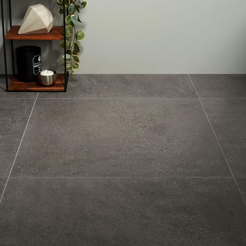 tulsa charcoal 24x24 matte porcelain tile
