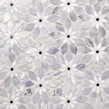 Waterjet Marble Tile for Backsplash,Kitchen Wall,Bathroom Wall,Shower Wall,Shower Floor,Outdoor Wall