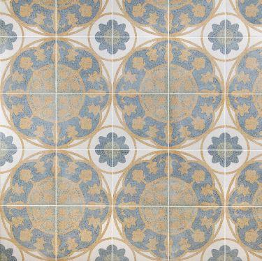 Encaustic Look Porcelain Tile for Backsplash,Kitchen Floor,Bathroom Floor,Kitchen Wall,Bathroom Wall,Shower Wall,Shower Floor,Outdoor Floor,Outdoor Wall,Commercial Floor