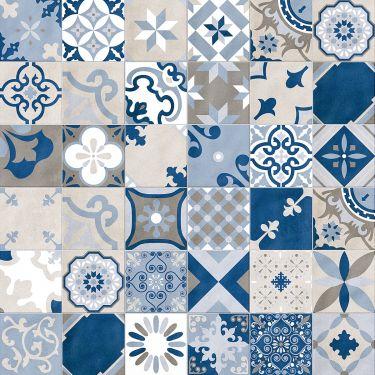 Deco Firenze  Blue 12x24 Matte Porcelain Tile