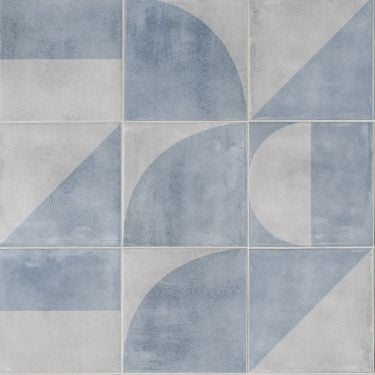Brando Blue 8x8 Porcelain Tile