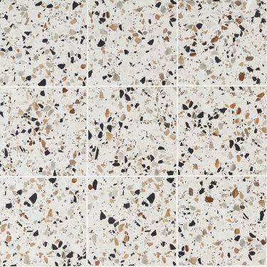 Chips Bianco 8x8 Matte Porcelain Tile