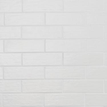 Kiln White 3x9 Matte Porcelain Tile