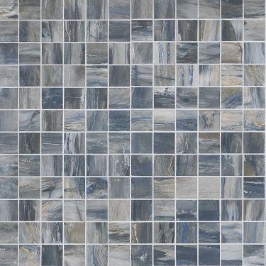 Petrawood Blue 2x2 Matte Porcelain Mosaic