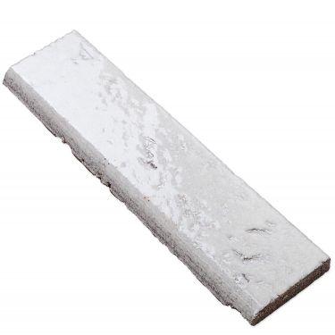 Belcrest Glazed Blanco 2x8 Bullnose Tile