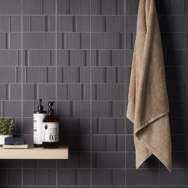 Division Antracite 8x16 Matte Ceramic Tile