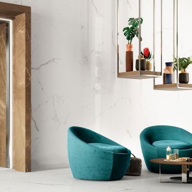 Marble Look Porcelain Tile for Backsplash,Kitchen Wall,Bathroom Wall,Shower Wall,Outdoor Wall