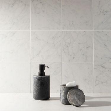 Marble Tech Bianco Gioia  6X6 Matte