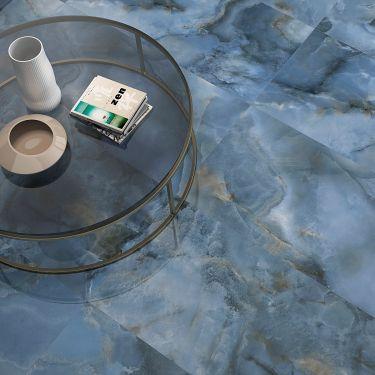 Jewel Onyx Blue 24x48 Polished Porcelain Tile