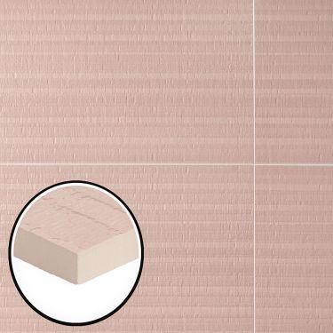 Angela Harris Noel Deco Pink Corallo 12x36 Satin Ceramic