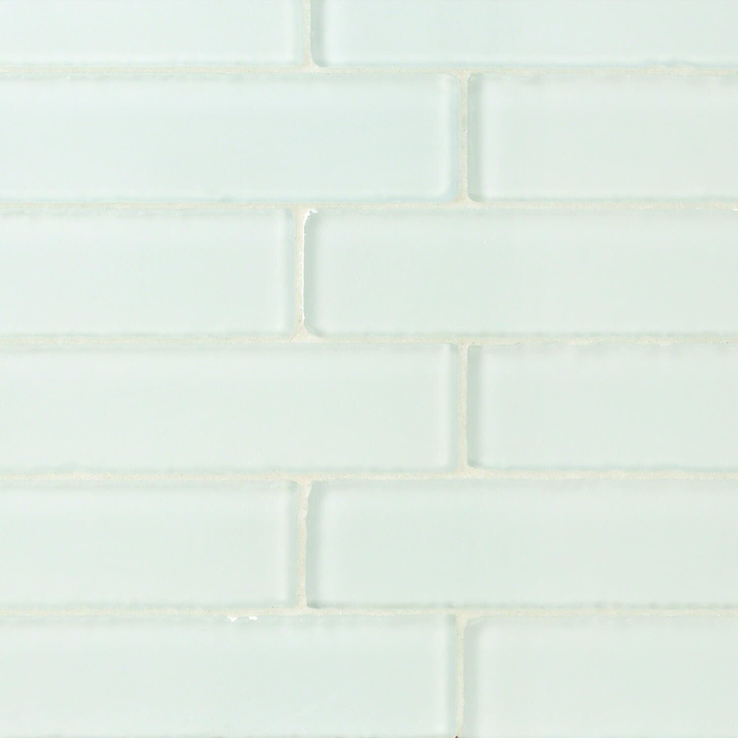 Coastal Shower 2x8 Beached Frosted Glass Tile