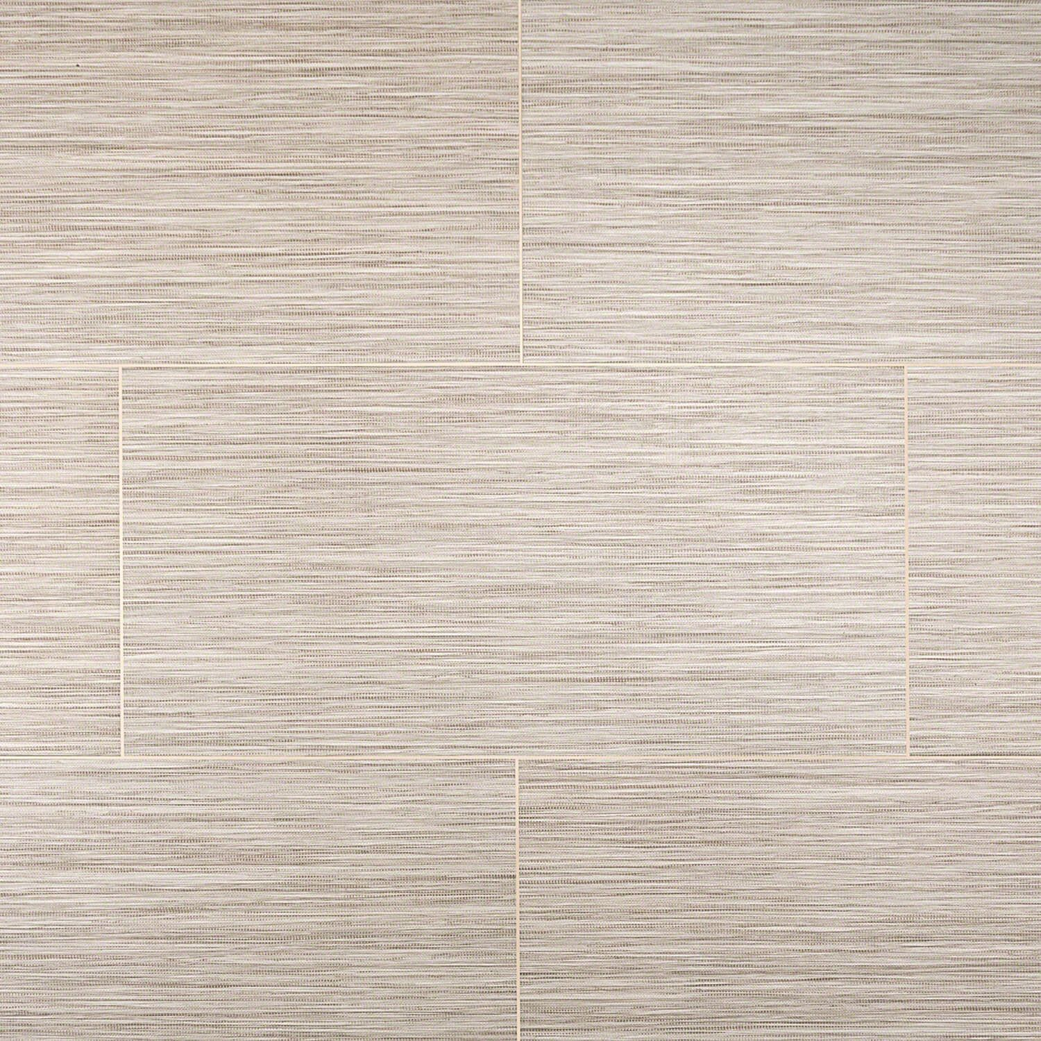 Piermont Biscuit 12x24 Fabric Look Porcelain Tile