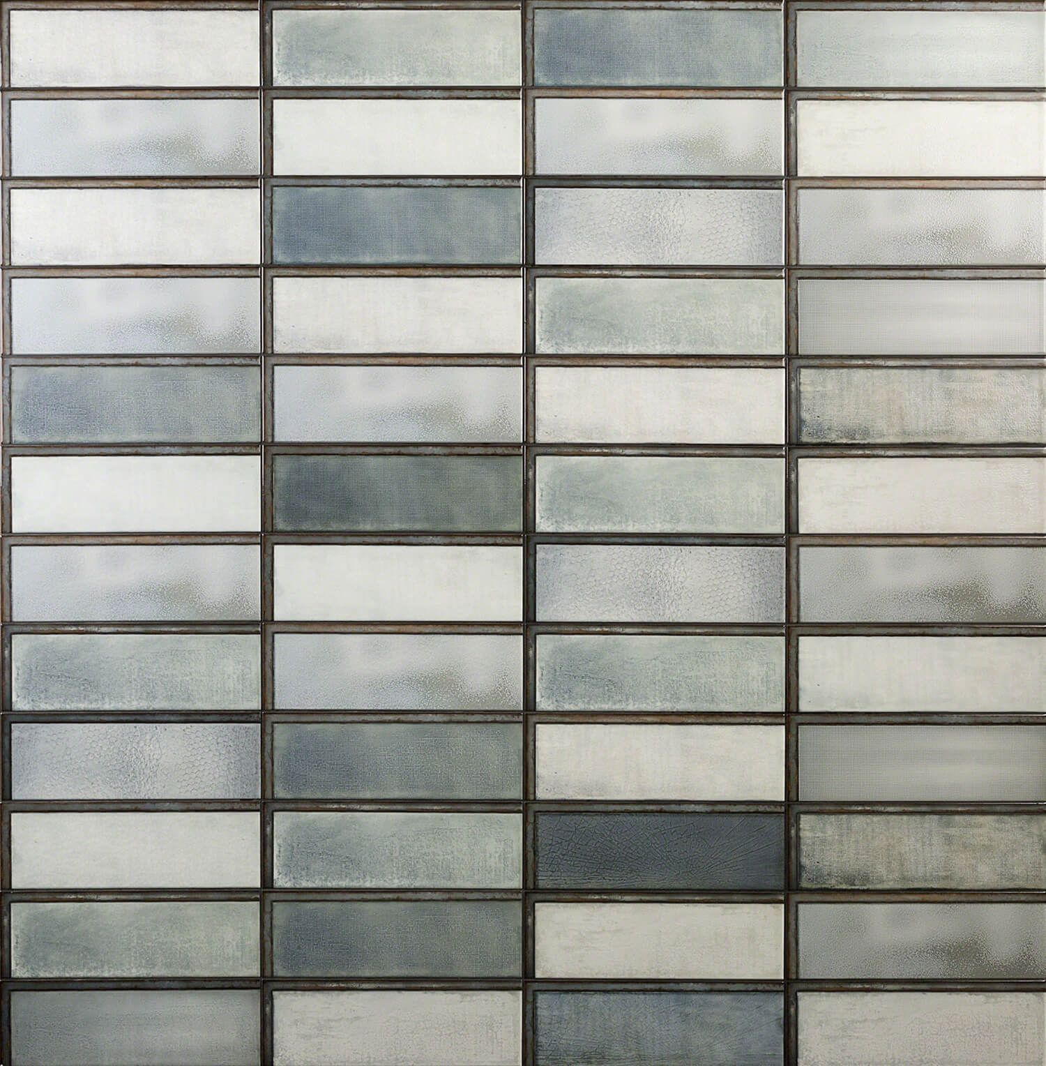 Diesel Industrial Glass Green 4x12 Ceramic Tile