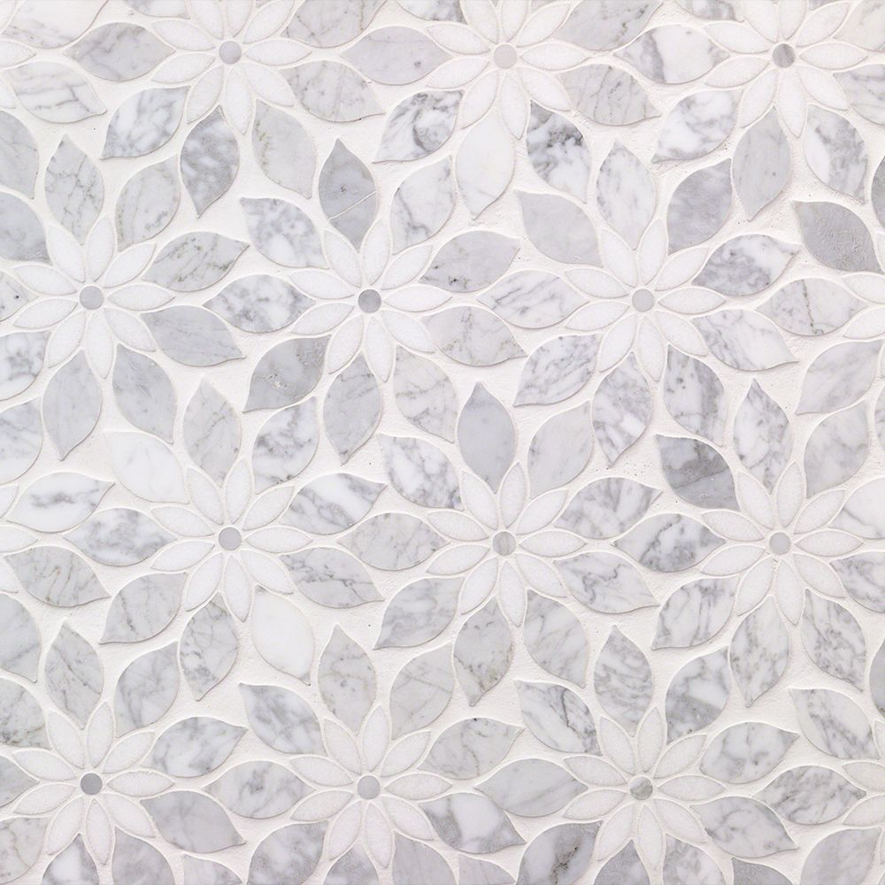 Wildflower Winds Breath Marble Tile