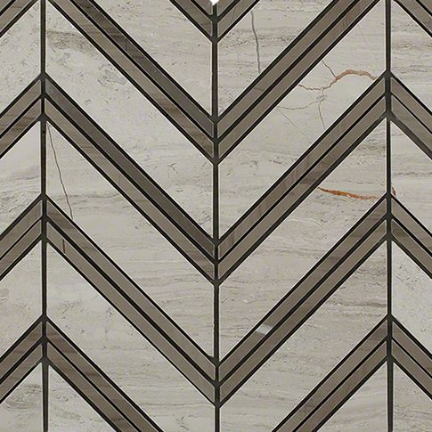 Monarch Wooden Beige With Athens Gray Marble Tile