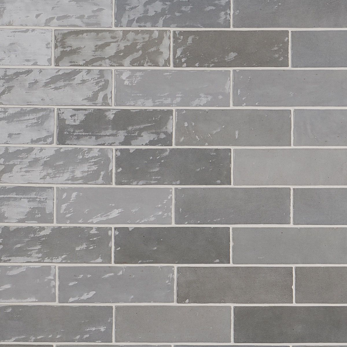 Portmore Gray 3x8 Glazed Ceramic Tile