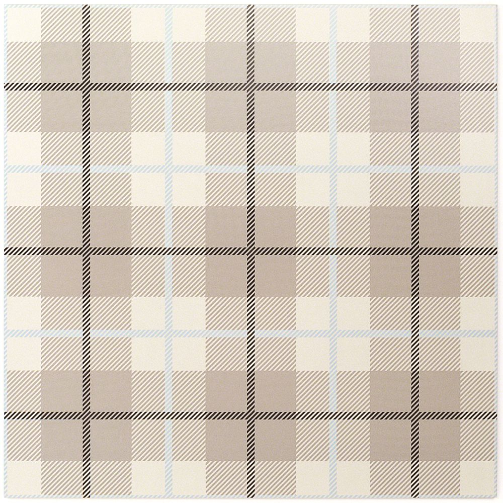 Plaid Ivory 24x24 Porcelain Tile