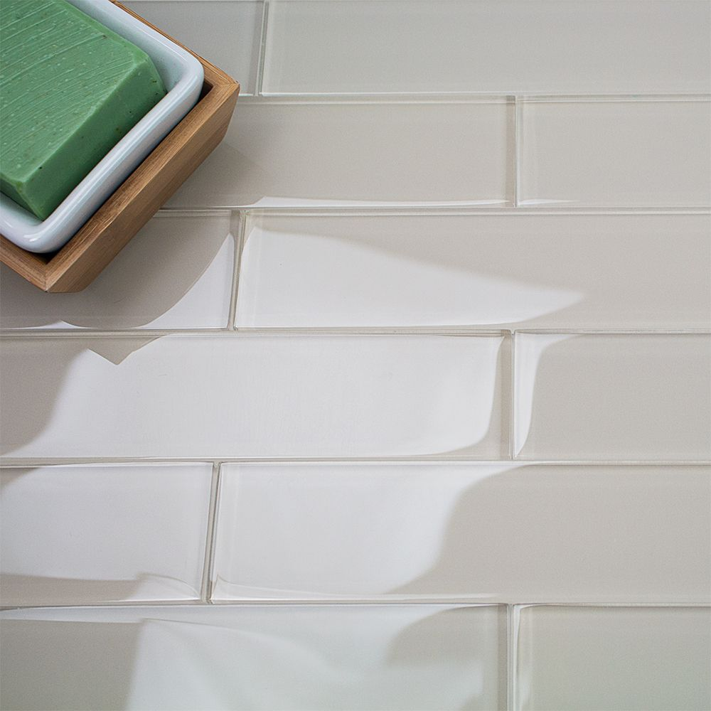 Loft Sand Beach 2x8 Polished Glass Tile