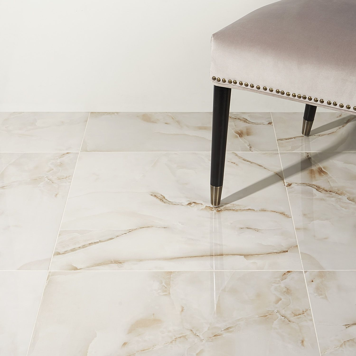 Lumina Onyx Pearl 24x24 Polished Porcelain Tile